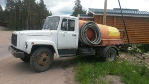 наши машины для откачки канализации