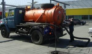 откачка жидких бытовых отходов