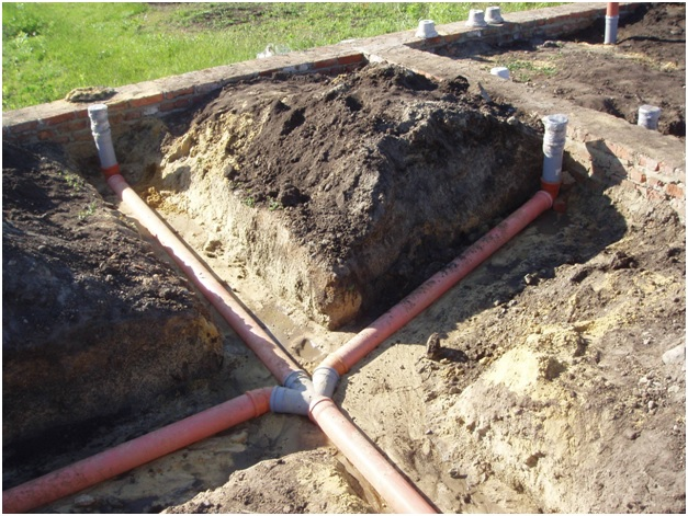 Закрытый способ прокладки канализации