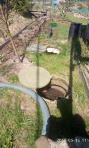 Откачка канализации. СНТ Озорной ручей. 2