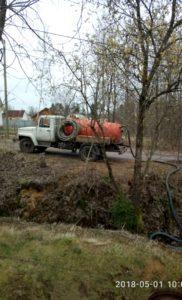 Откачка канализации_Поселок Первомайское