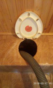 Откачка туалетов. Озеро Глубокое СНТ Волна. 1