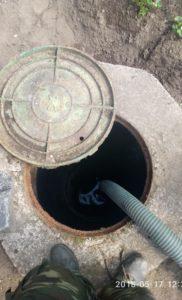 Откачка канализации. Правдинское озеро-Аллатуло. 3
